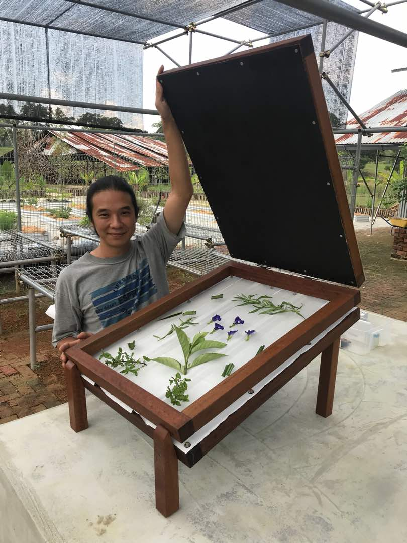 Radiant Heat Solar Dehydrator