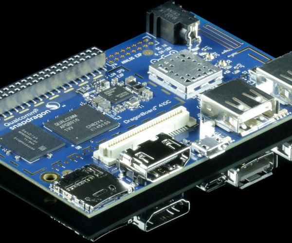 Sunlight Sensor Using Dragonboard 410c