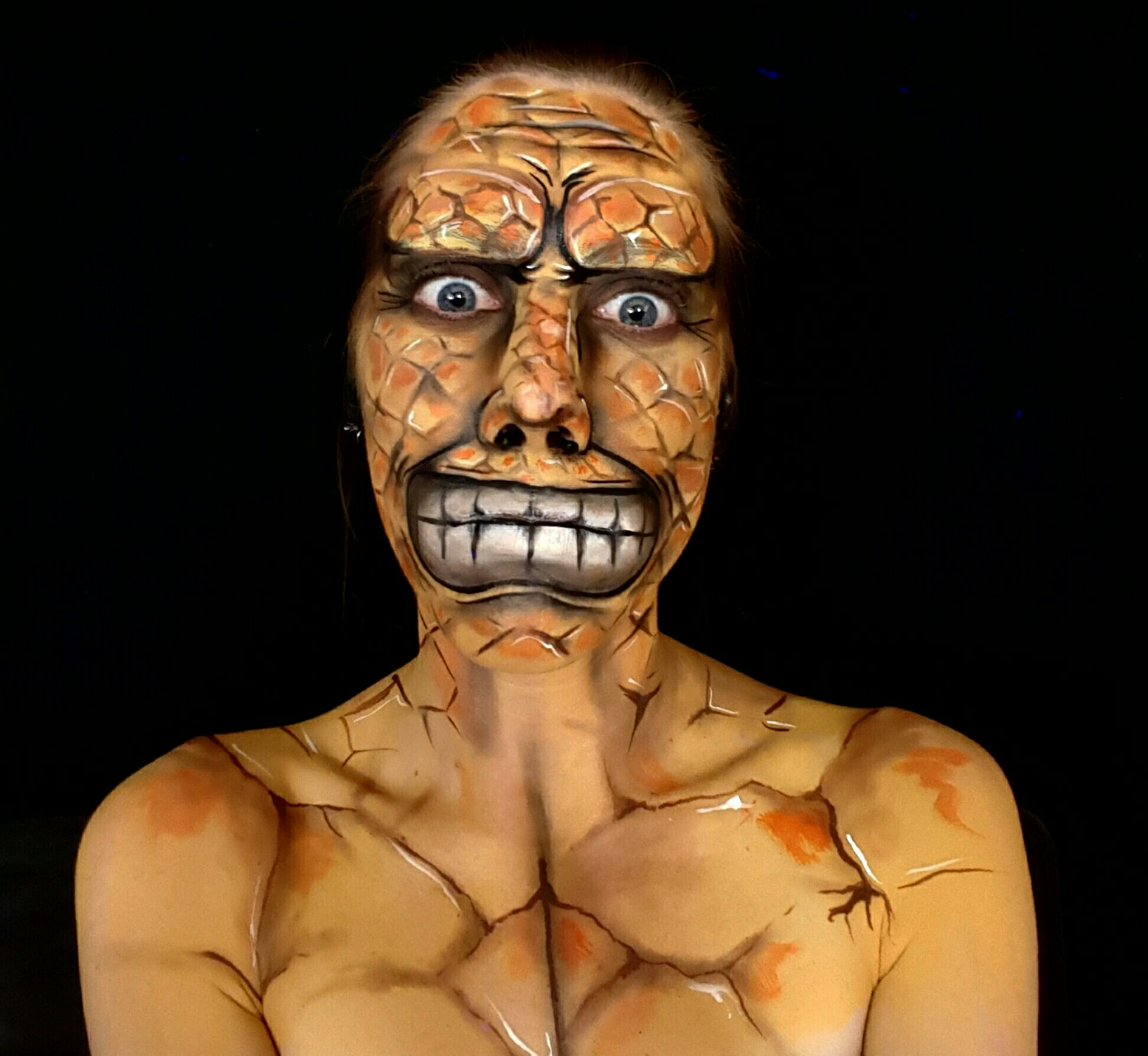 The Thing Body Paint