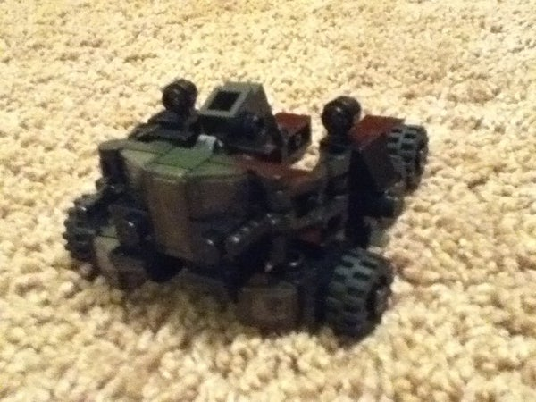 Lego War for Cybertron Mini Nemesis Prime