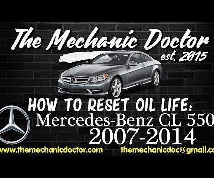 How to Reset Oil Life: Mercedes-Benz CL 550 (c216) 2007-2014