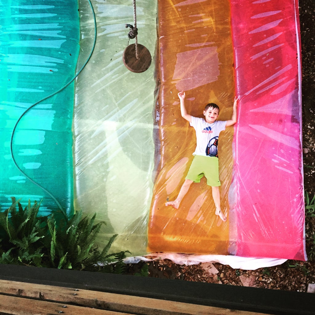 Giant Rainbow Water Blob