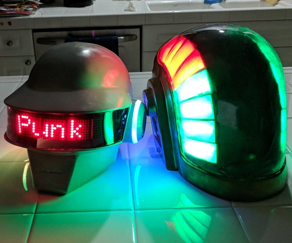 Two Daft Punk Helmets in One Month