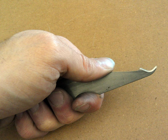 Make a Sewing Seam Ripper From a Bandsaw Blade