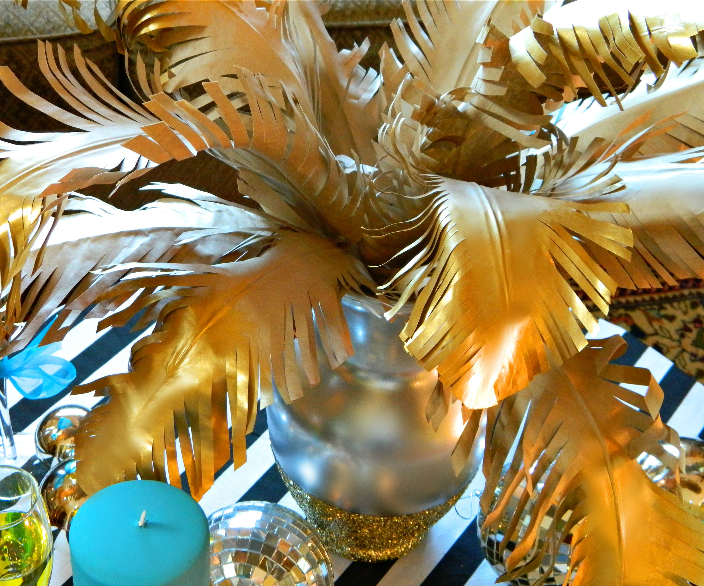 Kraft Paper Feathers