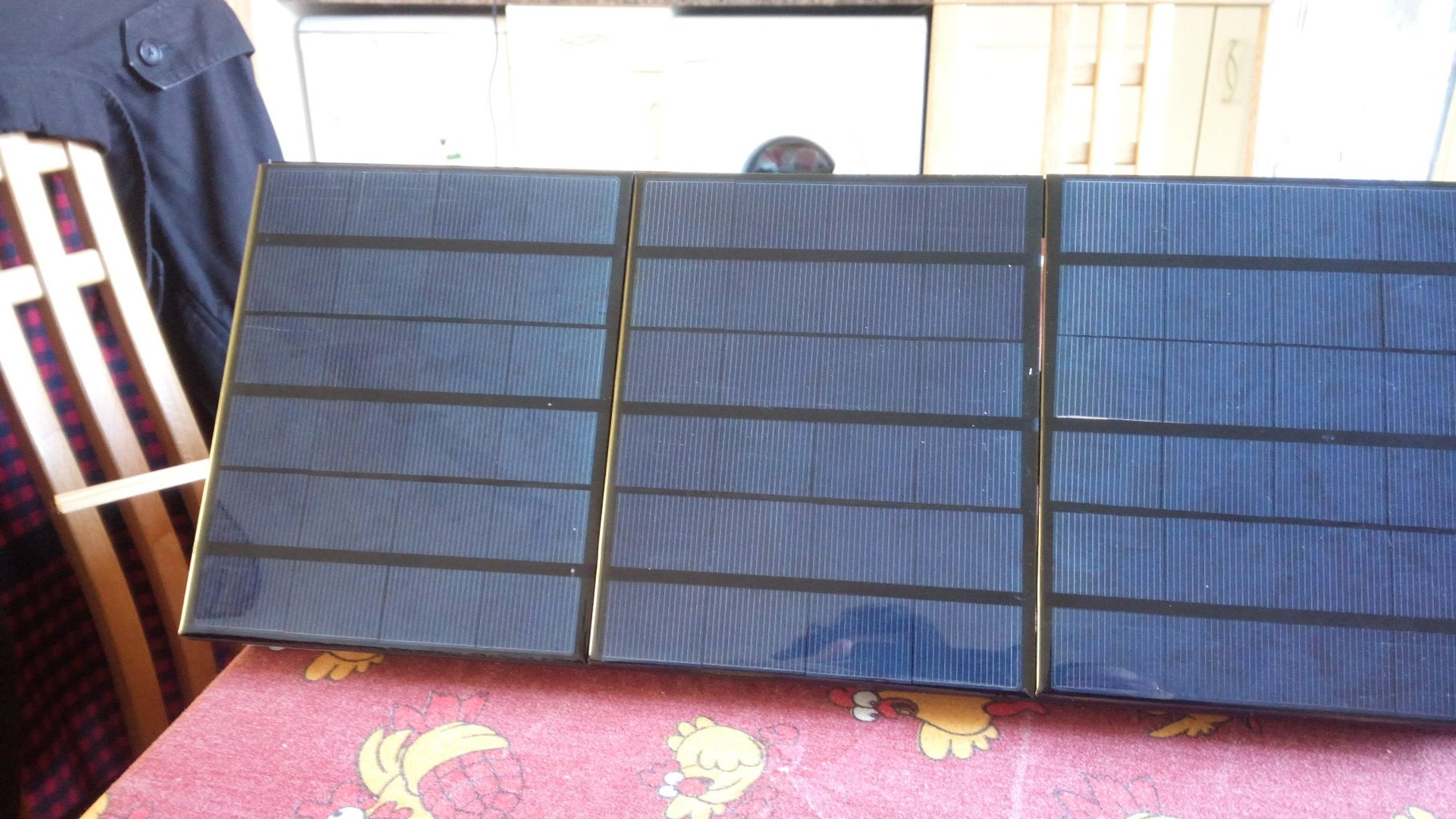 Building Up the Solar Panel
