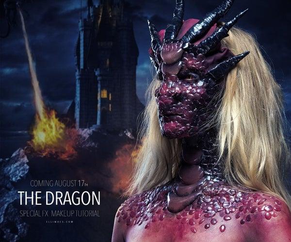 Game of Thrones Dragon - SFX Makeup Tutorial
