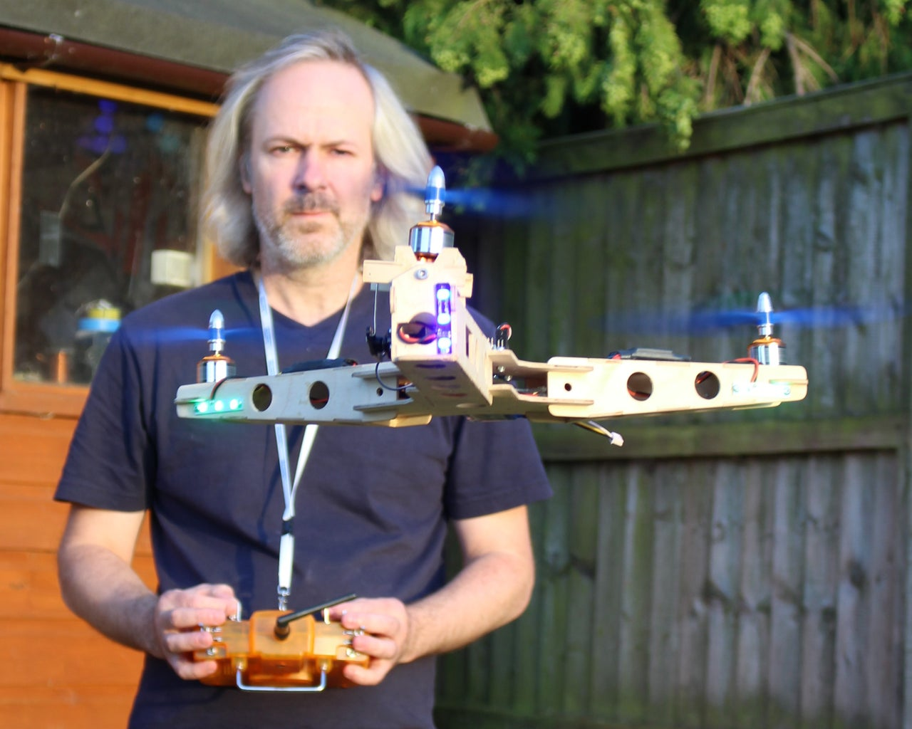 Simple Plywood Tricopter.
