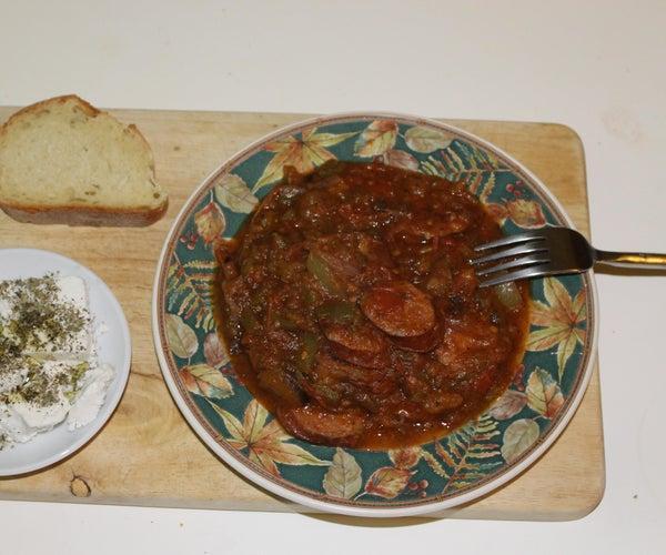 Spetzofai: Food of the Centaurs