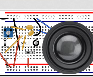 Frequency Changing Speaker With 555timer