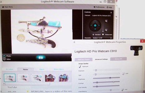 7. Logitech  Webcam Software ...what You See