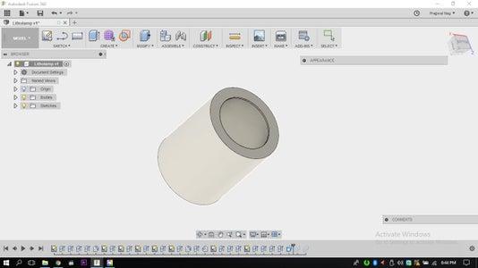 Designing a Holder