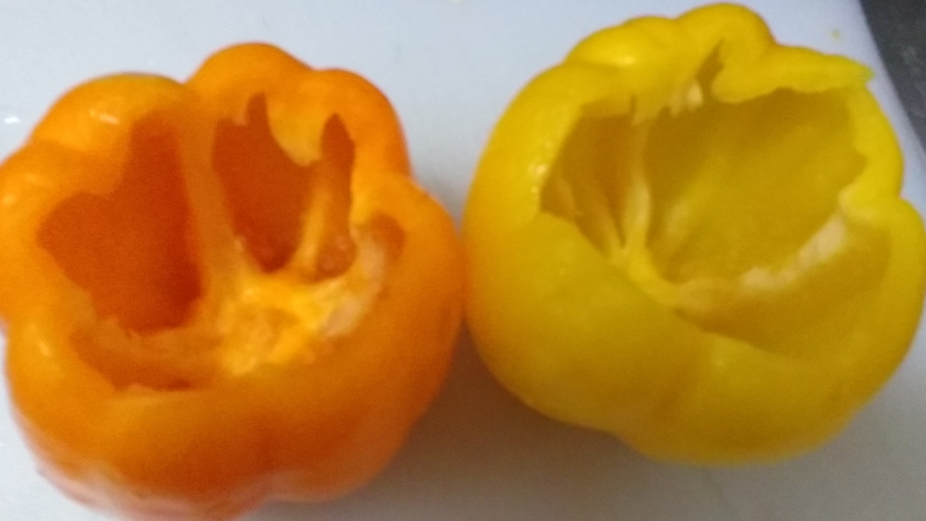 Cut Open and Clean Out Your Bell Peppers