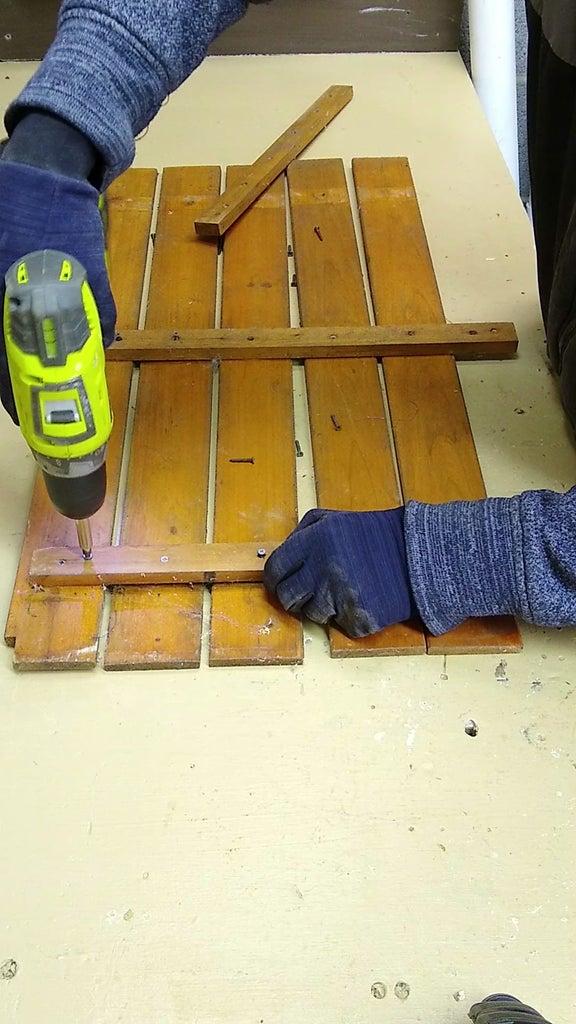 Sanding and Dismantling
