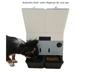 Automatic Food- and Water Dispenser for Your Pet
