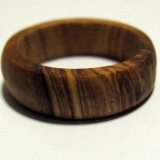 Hand-crafted Wooden Ring From Fallen Wood