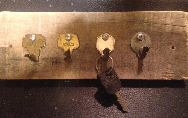 Recycled Key Rack