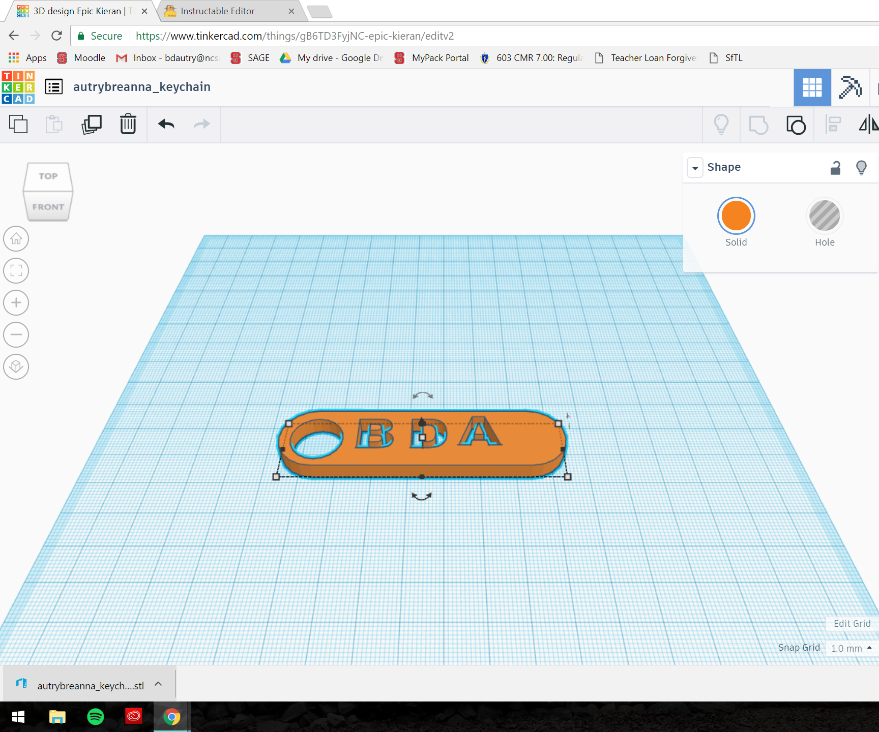 How to Use TinkerCad: Keychain Edition