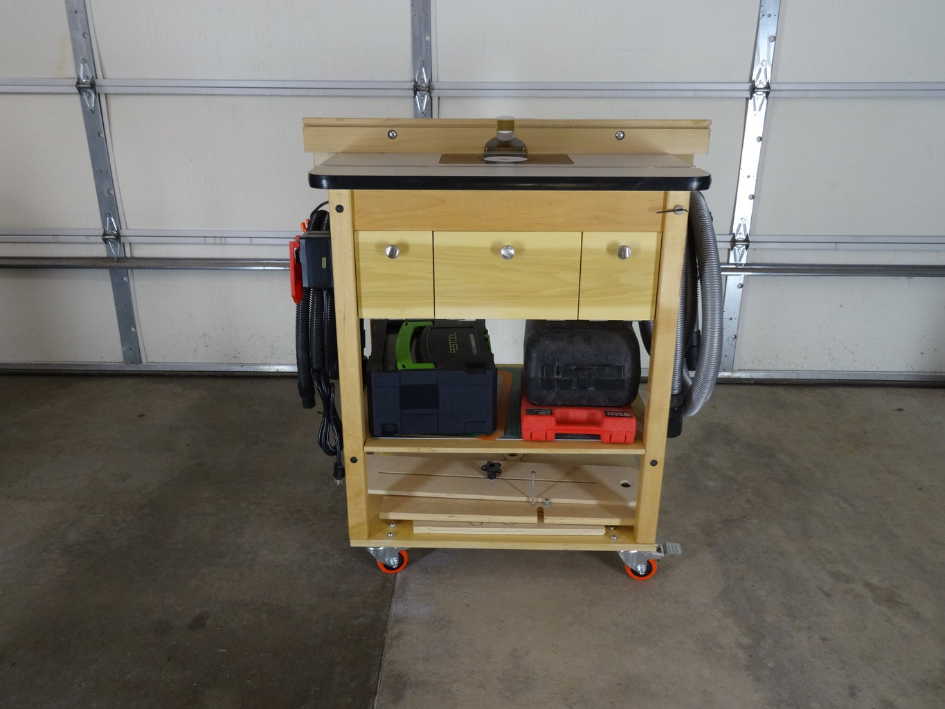 Router Table Major Improvements