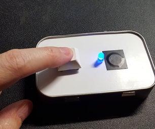 Altoids Tin Morse Code Practice Key