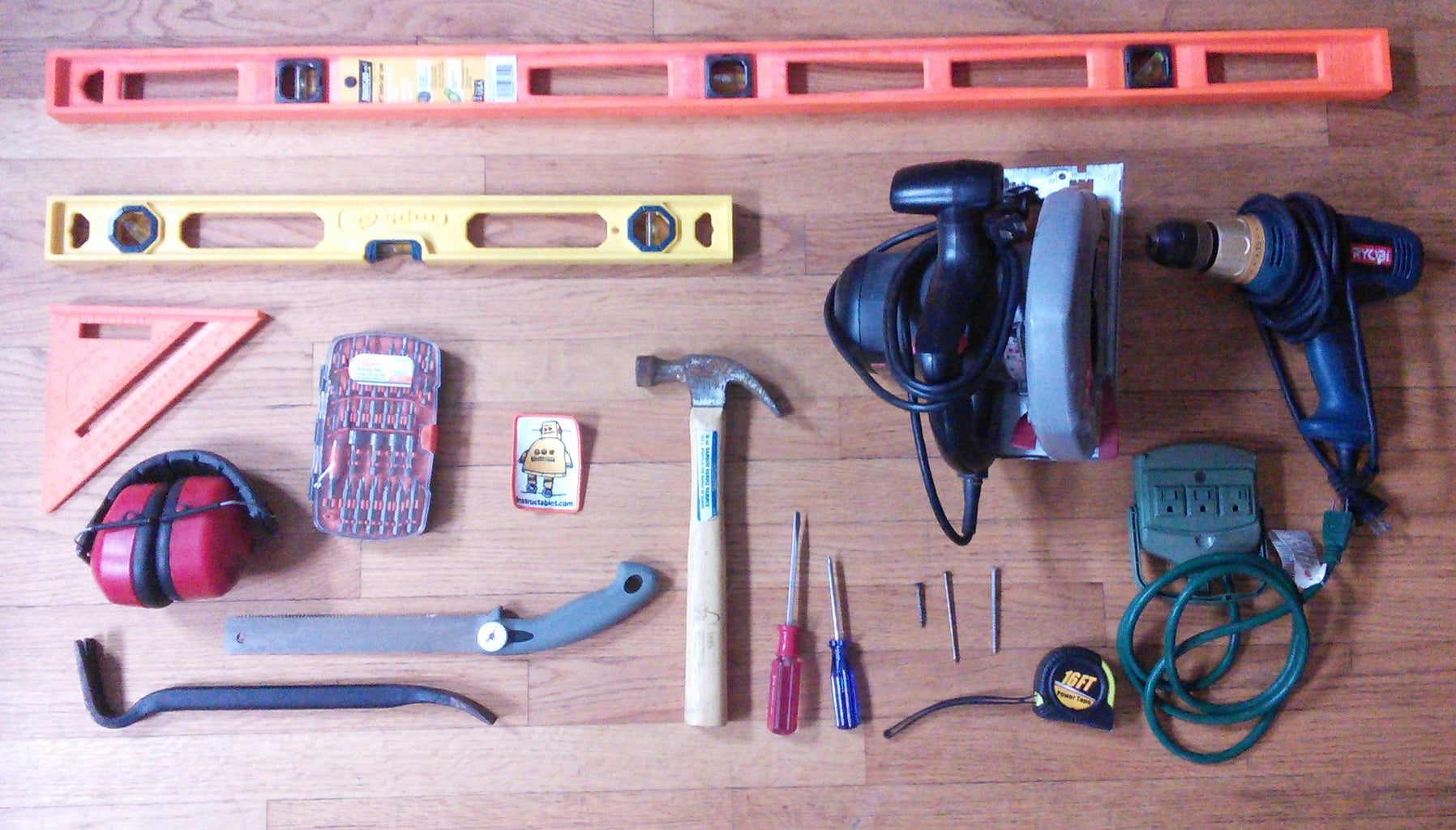 Materials + Tools