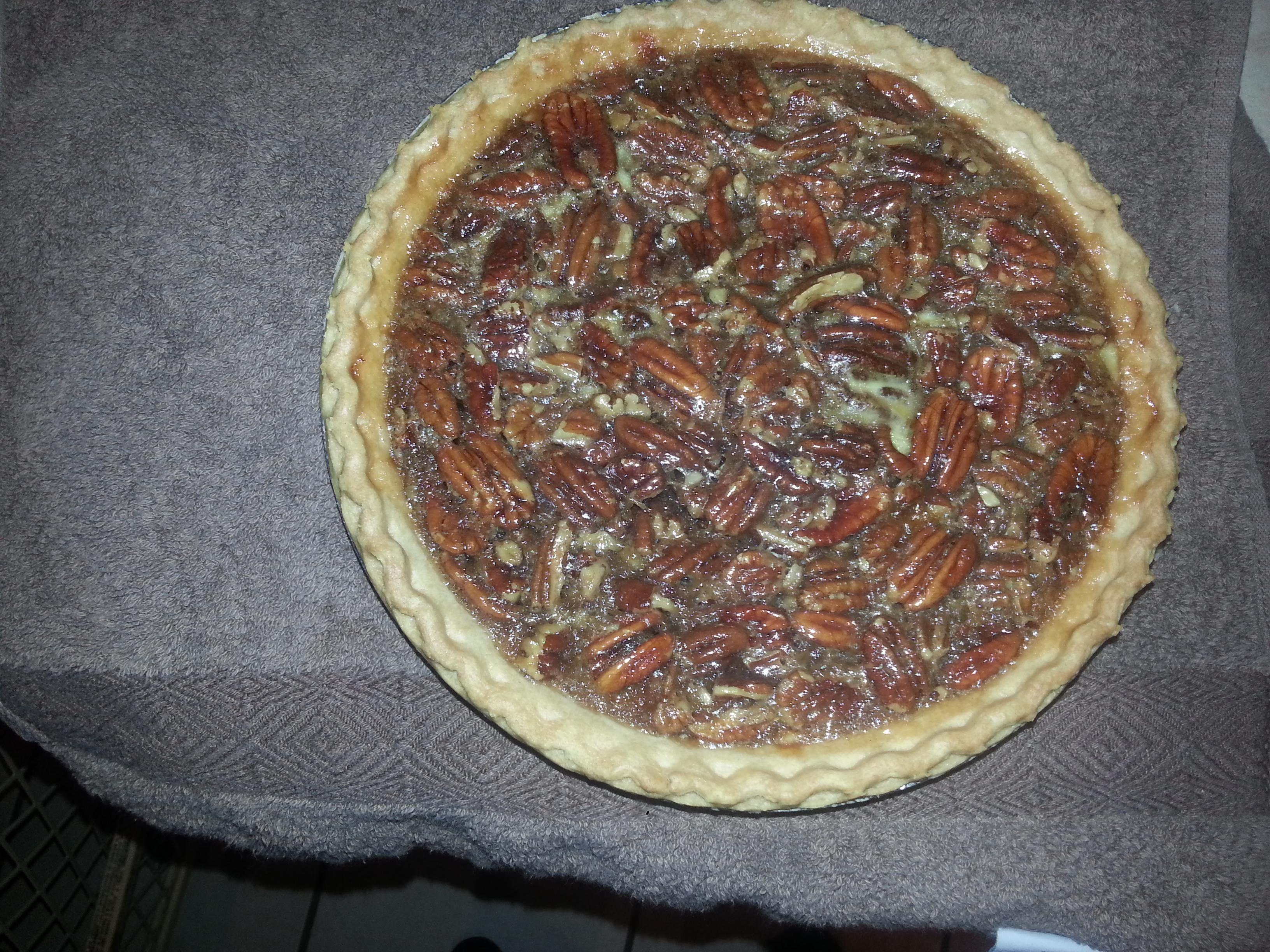 Brandy Rum Maple Pecan Pie