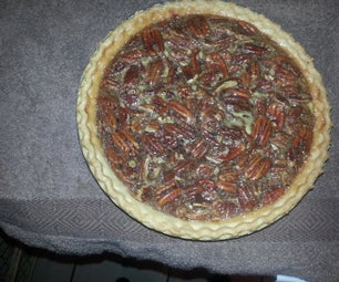 Brandy Rum Maple Pecan Pie