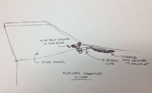 Forearm Gauntlet Missile