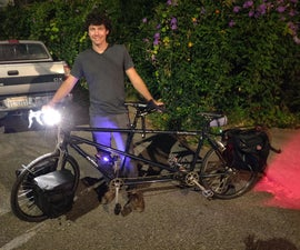 Theft Resistant Bike Light System
