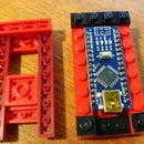 Lego Arduino Nano With Legs Housing