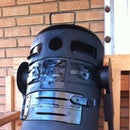 R2D2 charcoal grill ( ChaR2D2)