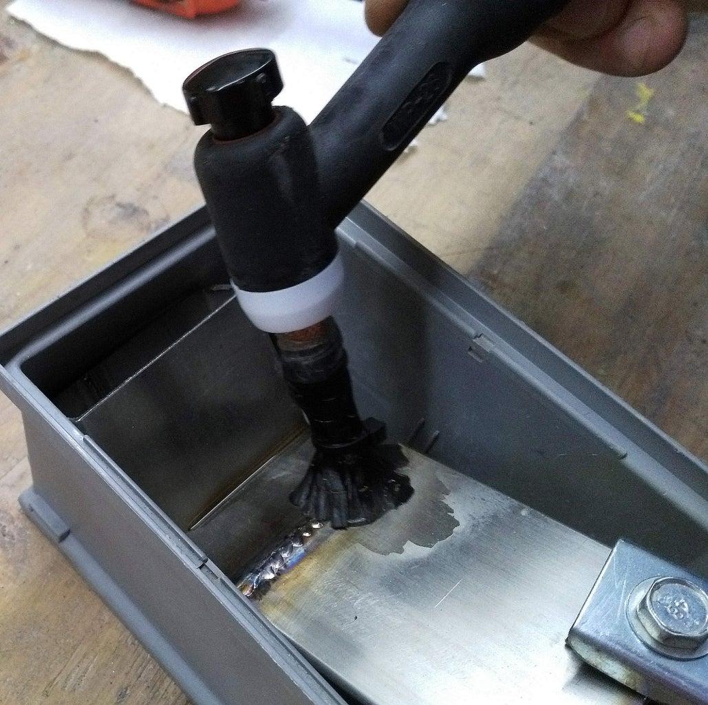 Weld Cleaner With TIG Welding Machine