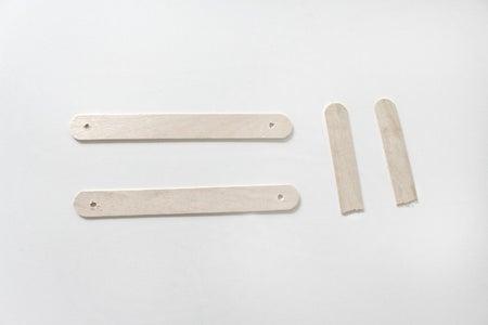 Prepare the First Craft Sticks
