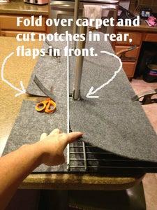 Upholster the Shelf - Cut the Carpet
