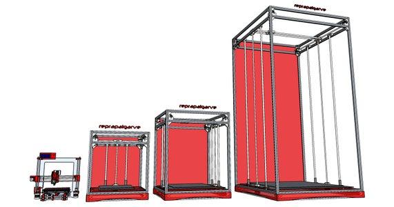 Open Design - Vulcanus Max 30 and Vulcanus Max 40