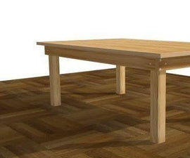 Easy Ways to Make a Wooden Table