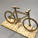 Bicycle Lasercut