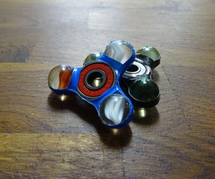 Duct Tape Spinner Fidget Toy
