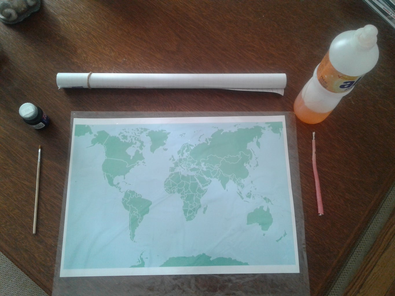 Scratch Map for Travellers!