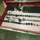 Toolbox socket,wrench, pliers drawer trays on the cheap and easy