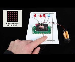Paper Circuit Reaction Game