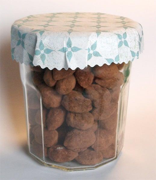 Last Minute Chocolate Almonds