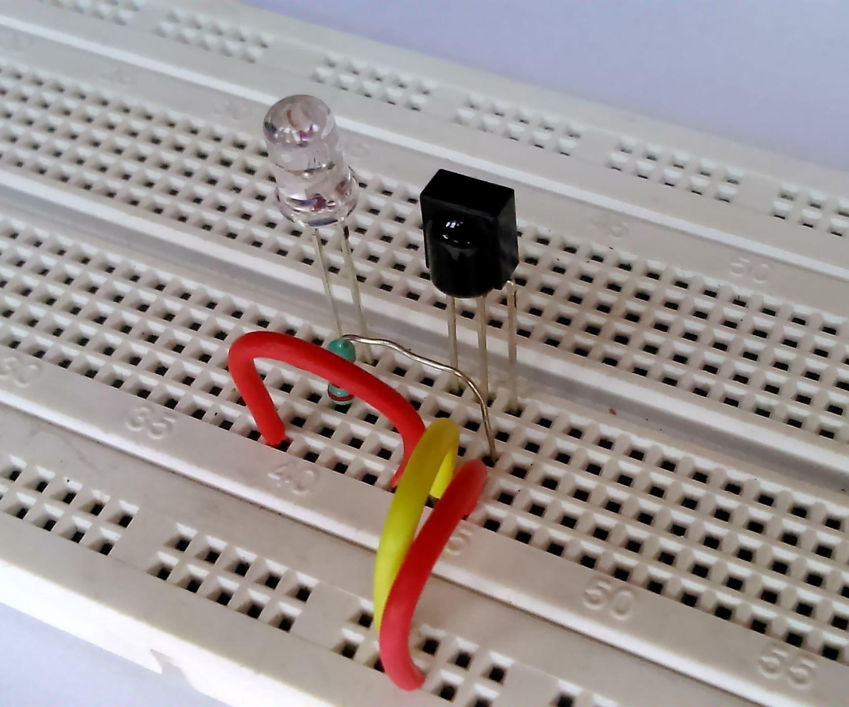 Simple IR Remote Tester Circuit.