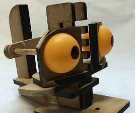 Laser-Cut Controls for Hand-Puppet Heads