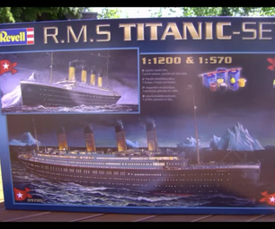 Revell 1:1200 Scale RMS Titanic Assembly Tutorial
