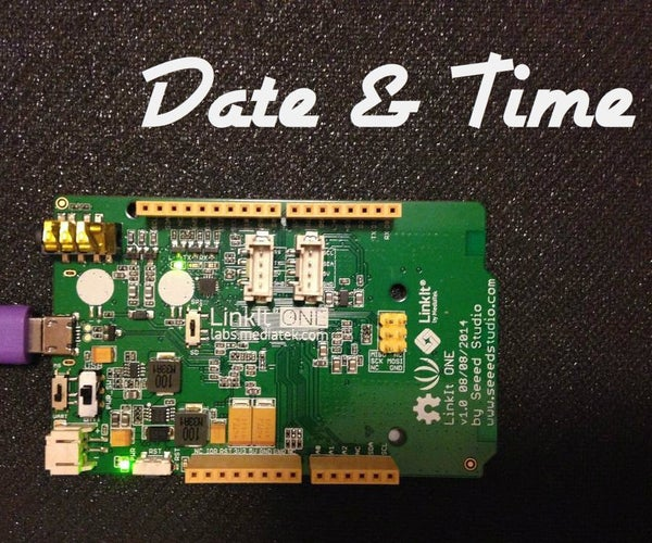 Linkit One: Date and Time