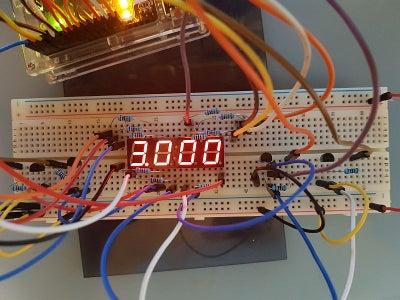 How to Properly Drive 4 Digit 7 Segment Display Using Arduino
