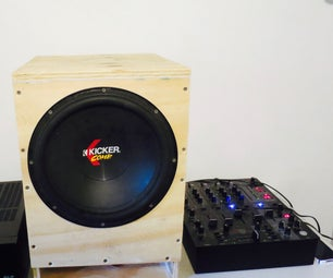 Subwoofer From Reclaim Wood -DI