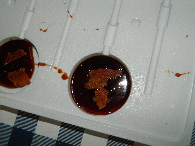 Maple Bacon Lollipops