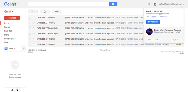 Configuring Gmail Account for the Printer